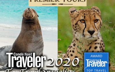 Allie Almario and Julian Harrison of Premier Tours on Condé Nast's 2020 Top Travel Specialists list