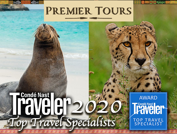 Allie Almario and Julian Harrison of Premier Tours on Condé Nast's 2020 Top Travel Specialists list