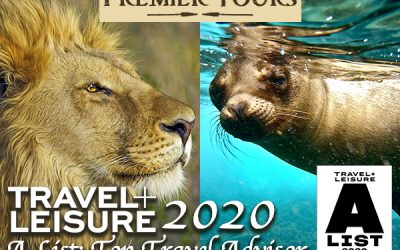 Premier Tours on Travel and Leisure 2020 A List of Top Travel Advisors